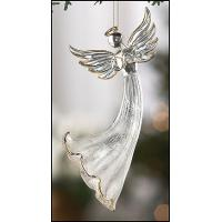 Buy cheap set of 3 mini glass angel in gift box from wholesalers