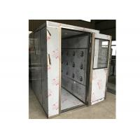 Buy cheap SUS304 Steel Cleanroom Air Shower For Precise Instrument / Industry from wholesalers