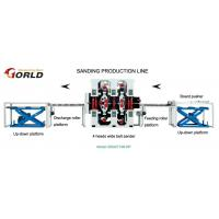 Buy cheap 4-head Double-Side Sanding Production Line from wholesalers