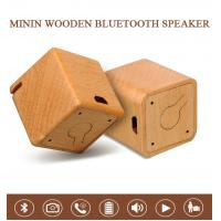 Buy cheap Solid Wood Bluetooth Speaker Process Self-timer Anti-loss Gift Audio from wholesalers
