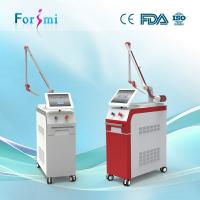 Buy cheap CoolingAirblowwithKoreaoriginal7jointsarm 270°flexiblescreenadjustable Q-Switched machine for spot removal from wholesalers