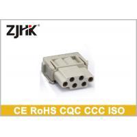 Han E Modular Heavy Duty Electrical Connector 6 Pin With Crimp Terminal 09140063001