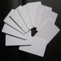 Buy cheap Directly Printing Inkjet PVC Card White Color Buiness ID Card Printable from wholesalers