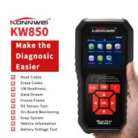 Buy cheap Upgrade Free OBD 2 Scanner Mode 6 Car Engine Diagnostic Equipment for All Cars Black AL519 product
