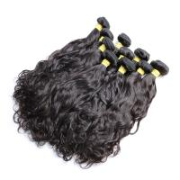 Buy cheap Natural Wave Brazilian Human Hair Bundles For Black Women Long Hair / Shedding Free from wholesalers