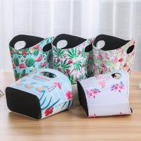 Buy cheap Flamingo Pattern Waterproof Lady Shopping Basket Decorative Valentine Gift Basket for Hotel Home Decor from wholesalers