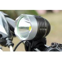 Buy cheap 1200lm 10W LED cree xml t6 bicycle headlight 4.2V DC 4400mah Battery Pack from wholesalers