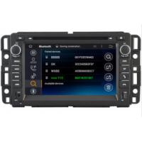 Buy cheap 7 Inch In Dash Multimedia Player Gps Units For Cars Chevrolet Tahoe 2007 - 2014 from wholesalers