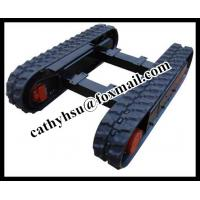 Buy cheap custom built 1-30 ton rubber crawler track from wholesalers