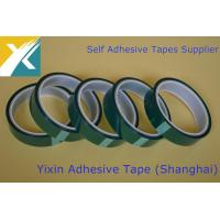Buy cheap High Temperature Polyester silicone adhesive Tape Green Polyester Tape Polyester Silicone Masking Tapefor Powder Coating from wholesalers