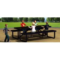 Buy cheap Rubber Coated Convertible Bench Picnic Table Resist Vandalism For Public Space from wholesalers
