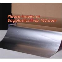 Buy cheap 25sqft 300mm wide 8011 Manufacturer Household Aluminium Foil Rolls,Household Alunimnum Foil Wrapping Paper Food Grade Al from wholesalers