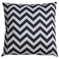 Buy cheap Home Chevron Patterned Cotton Cushion , Decorative Square Cushion from wholesalers