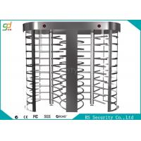 Buy cheap Two Lanes Full Height Turnstiles With Biometric Fingerprint Gate from wholesalers