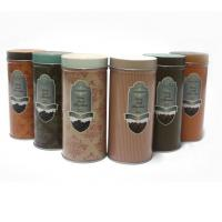 Buy cheap Custom vintage tin coffee canister product