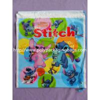 Buy cheap Fashionable Small Plastic Gift Bags Customizable Drawstring Backpack from wholesalers