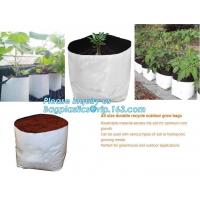 Buy cheap Polyethylene Durable Jumbo Tree Planter Bags, Heavy Duty Growing Bags,Effective UV Stabilized Black White Plastic Growin from wholesalers