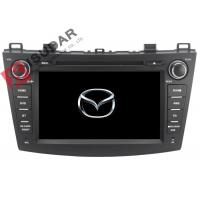 Buy cheap Radio RDS Car GPS Navigation DVD Player Mazda 3 Touch Screen Head Unit Heat from wholesalers
