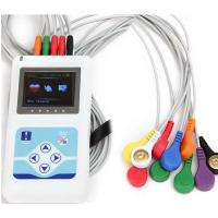 Buy cheap 12 Channel ECG Holter Mobile Ultrasound Machine AA Battery CE / FDA Approved from wholesalers