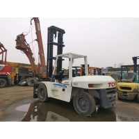 Buy cheap 10T TCM FD100Z Second Hand Forklift Gantry Height 6m from wholesalers