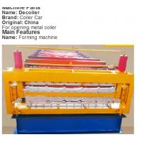Buy cheap 22KW Gearbox Drive Floor Deck Roll Forming Machine With 5T Manual Uncoiler from wholesalers