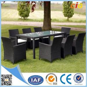 Buy cheap 9pcs Leisure KD Design Garden Outdoor Rattan Furniture No  Folded product