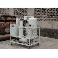 Buy cheap Professional Turbine Oil Filtration Machine Remove Water Content / Impurities from wholesalers