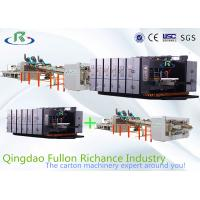 Buy cheap Automatic Flexo Printing Slotting Die-Cutting Folder Gluer Strapping Inline Machine from wholesalers