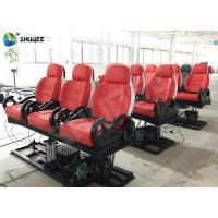 Buy cheap Realistic 6D Cinema Equipment With Excited Motion Chair And Cinema Special Effects product