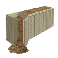 Buy cheap UV Protecting Perimeter Hesco Bastion Concertainer 4.0mm Wire Gauge from wholesalers