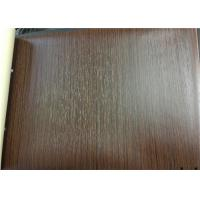 Buy cheap Rigid Touch Pvc Film For Lamination Deep Embossed Wood Grain For Decoration from wholesalers