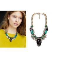 Buy cheap wholesale Alloy acrylic necklace ,disigner blouse's chains, man-made alloy collarbon chain from wholesalers