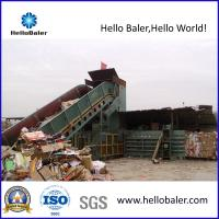 Buy cheap Horizontal Waste paper, Cardboard Automatic Baler From Hello Baler from wholesalers