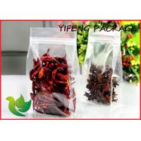 Buy cheap Recycableflat Bottom Plastic Bags Stand  Up , Ziplock For Reclosable product