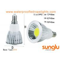 Buy cheap Energy Star 3W Dimmable LED Spotlights E14 E27 DC12V With Aluminium Body from wholesalers