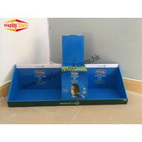 Buy cheap Promotional Blue corrugated PDQ Trays Display Stand Unit For Shock Absorber from wholesalers