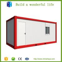 Buy cheap 20 FT container office mobile house container porta cabin Saudi Arabia from wholesalers