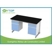 Buy cheap 12.7 Mmn Phenolic Resin Medical Lab Furniture , PCR Laboratory Wall Bench from wholesalers