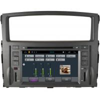 Buy cheap Stereo Montero Mitsubishi Sat Nav DVD , 3G WiFi Car DVD Player GPS Navigation Radio from wholesalers