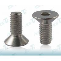 Buy cheap Right Hand Threads Titanium Fastener Flat Head Hex Socket Drive ASME B18.3 from wholesalers