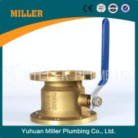 Buy cheap MILLER CE approved 3 inch aluminium handle 600wog flange brass ball valve ml-1401 from wholesalers