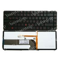 Buy cheap HP Dm4-3000 German Laptop Keyboard Layout With Backlit Red Printing Letter from wholesalers