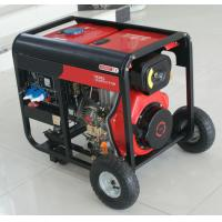Buy cheap 6KVA/5KW Air-Cooled Open Type Small Portable Diesel Generator Set Minimal vibration from wholesalers