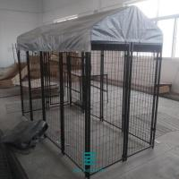 Buy cheap Warehouse Storage Welded Wire Mesh Fence Panels Deck Fence Panels Dog Kennels from wholesalers