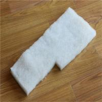 Buy cheap Eco-friendly polyester cotton batting high loft garment polyester padding from wholesalers