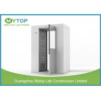 Buy cheap 304 SS Air Shower Clean Room Lab Equipment Passage For Pharmaceutical Factory from wholesalers