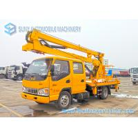 Buy cheap JAC High Operation Aerial Platform Truck Left  / Right Hand Drive from wholesalers