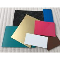 Buy cheap Spectra Blue Aluminium Interior Wall Panels Anti - Dust With High Impact Resistance from wholesalers