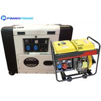 Buy cheap 5000W Mobile Silent Small Portable Generators 6kva Generator With Wheels from wholesalers