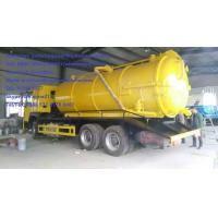 Buy cheap SINOTRUK 6M3 290hp Sewage Suction Truck EURO II Emission with 12.00R20 model Radial Tire Septic Tank Pumping Truck from wholesalers